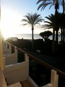 Sunrise in the Canaries...